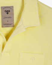 Oas Company Solid Terry Shirt Yellow