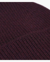 Colorful Standard Merino Wool Beanie Oxblood Red