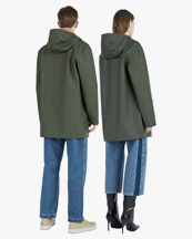 Stutterheim Stockholm Raincoat Green