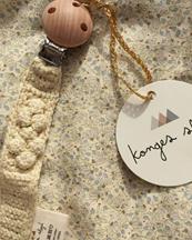 Konges Sløjd Pacifier Strap Knit Cotton