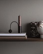 Ferm Living Balance Candle Holder Black