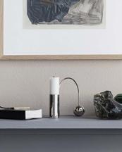 Ferm Living Balance Candle Holder Chrome