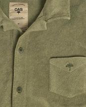 Oas Company Camisa Terry Shirt Khaki