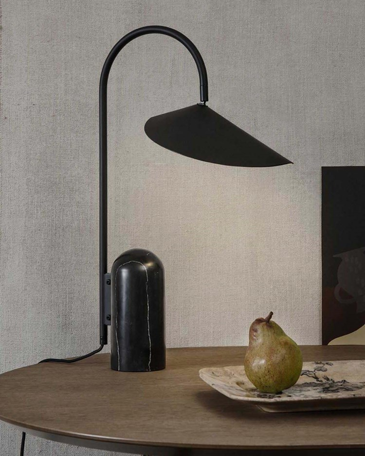 Ferm Living Arum Table Lamp Black