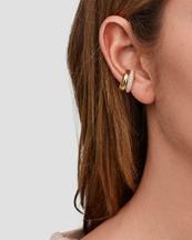 Tom Wood Ear Cuff Zirconia Gold