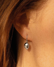 Lugot L'quintenssenza Earrings Silver