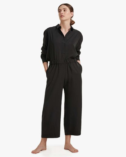 A Part Of The Art Airy Pants Black