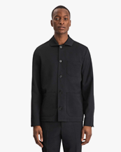 Filippa K Louis Gabardine Jacket Black