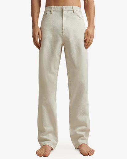 Jeanerica Rm006 Reconstructed Jeans Natural White