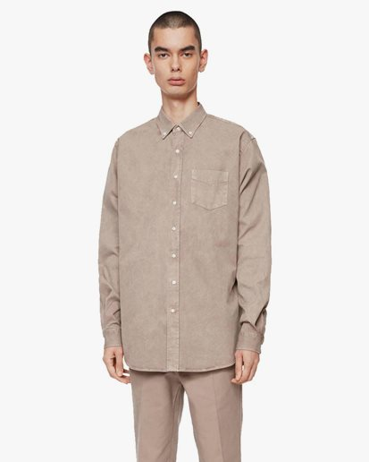 Schnayderman's Shirt Overdyed One Camel
