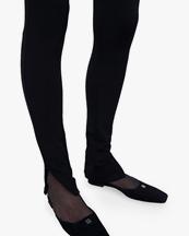 Toteme Zip Leggings Black