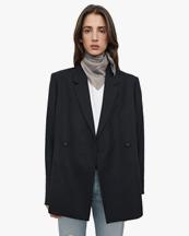 Toteme Oversized Wool Blazer Black
