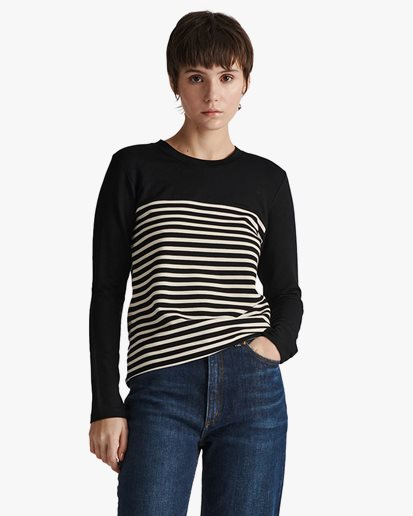 Stylein Canvey Top Half Striped
