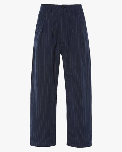 Universal Works Double Pleat Pant Navy