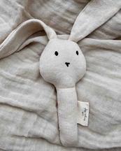 Konges Sløjd Activity Hand Rabbit Off White Melange