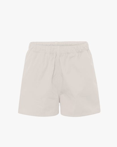 Colorful Standard Wmn Organic Twill Shorts Ivory White