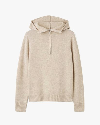 Toteme Cashmere Hoodie Oat