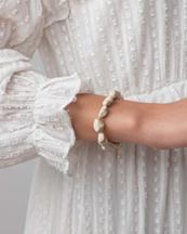 Anni Lu Beach Cocktail Bracelet Ecru
