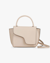 Atp Atelier Montalcino Mini Handbag Dusty Pink