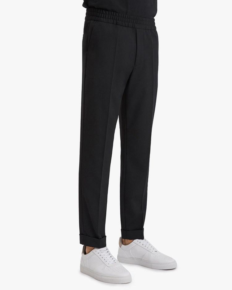 Filippa K Terry Cropped Trouser Black
