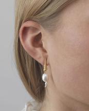 Anni Lu Turret Shell Baroque Pearl Earring