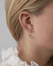 Anni Lu Golden Alaia Hoop Earrings Gold