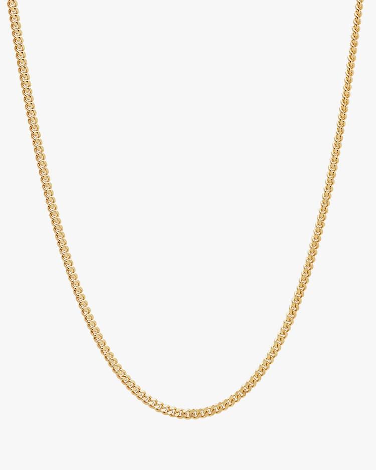 Tom Wood Curb Chain M Gold