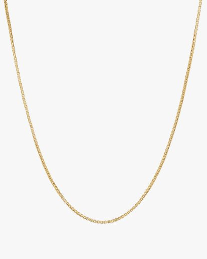 Tom Wood Square Chain Necklace Gold
