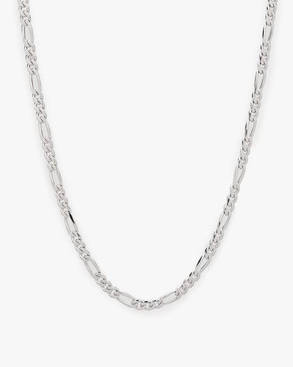 Tom Wood Figaro Chain Thick Necklace Silver