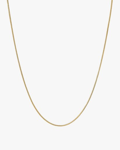 Tom Wood Boa Chain Necklace Gold