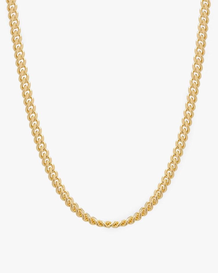 Tom Wood Curb Chain L Gold