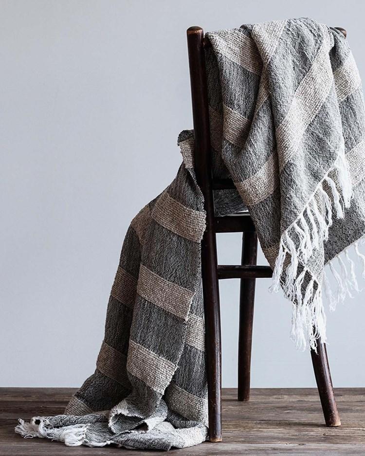 Tell Me More Mauro Blanket Stripe