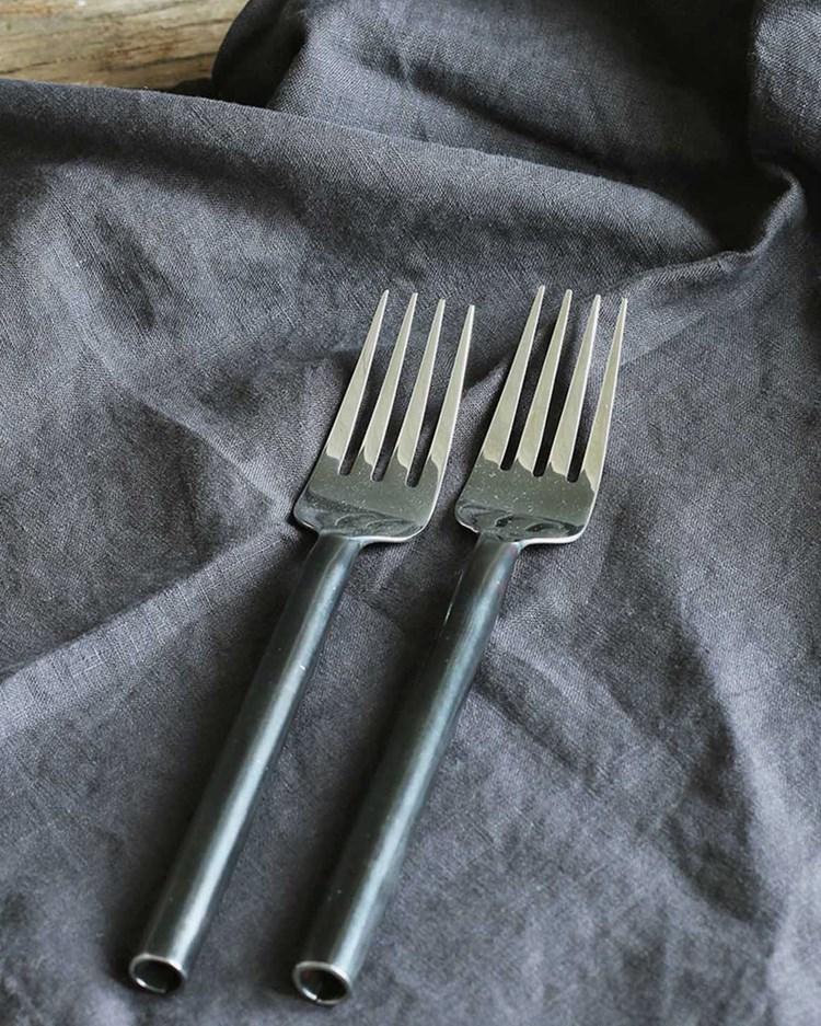 Tell Me More Steel Picking Fork Unpolished