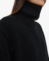Toteme Wool Cashmere Turtleneck Black