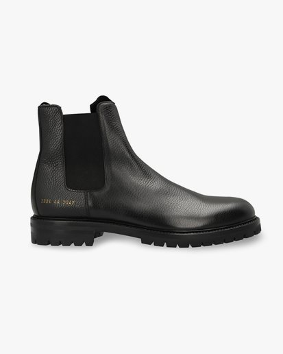 Common Projects Winter Chelsea Black