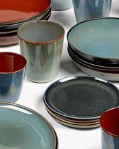 Serax Plate Dark Blue
