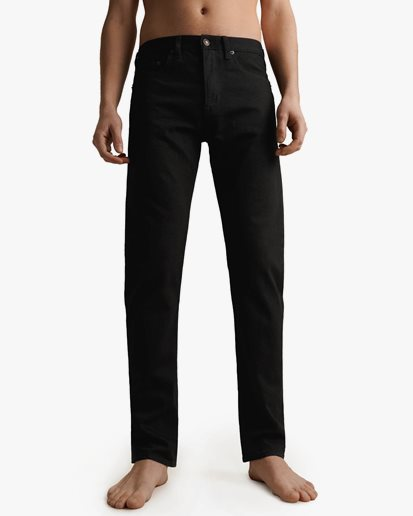 Jeanerica Tm005 Tapered Jeans Rinse Stay Black