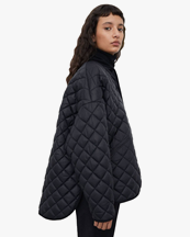 Toteme Quilted Jacket Black