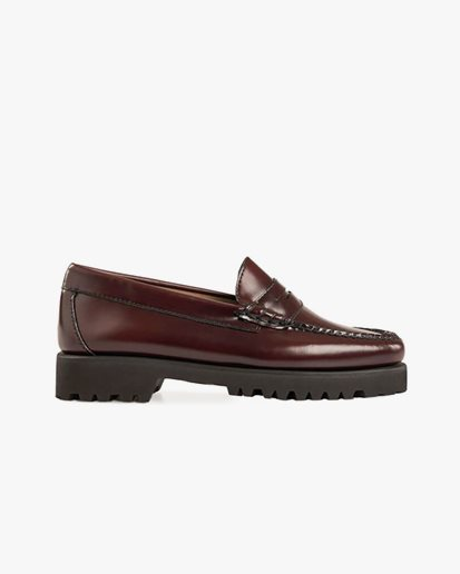 G.H. Bass Weejuns 90S Penny Loafers Wine Leather