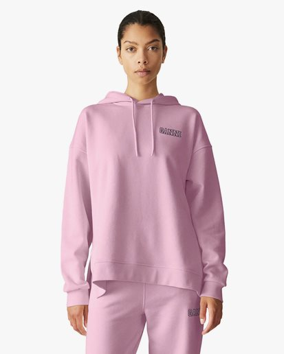 Ganni Software Oversized Hoodie Lilac