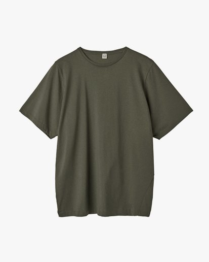 Toteme Oversized Cotton Tee Forest