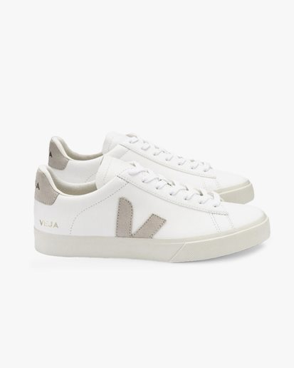 Veja Wmn Campo Chromefree Leather Extra White/Natural Suede