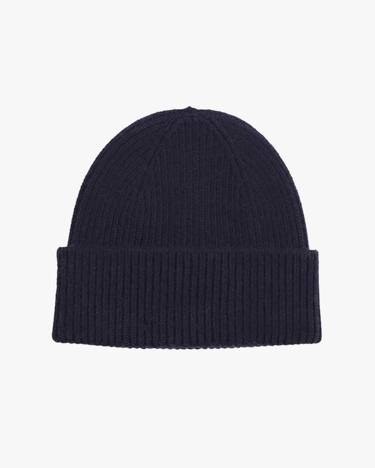 Colorful Standard Merino Wool Hat Navy Blue