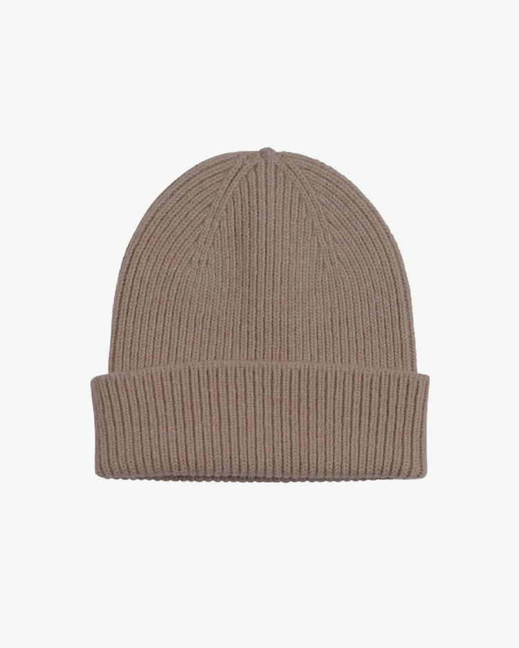 Colorful Standard Merino Wool Hat Warm Taupe