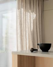 Gotain Curtain Woven Linen Sand