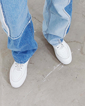 Eytys Sidney Sneakers White Leather