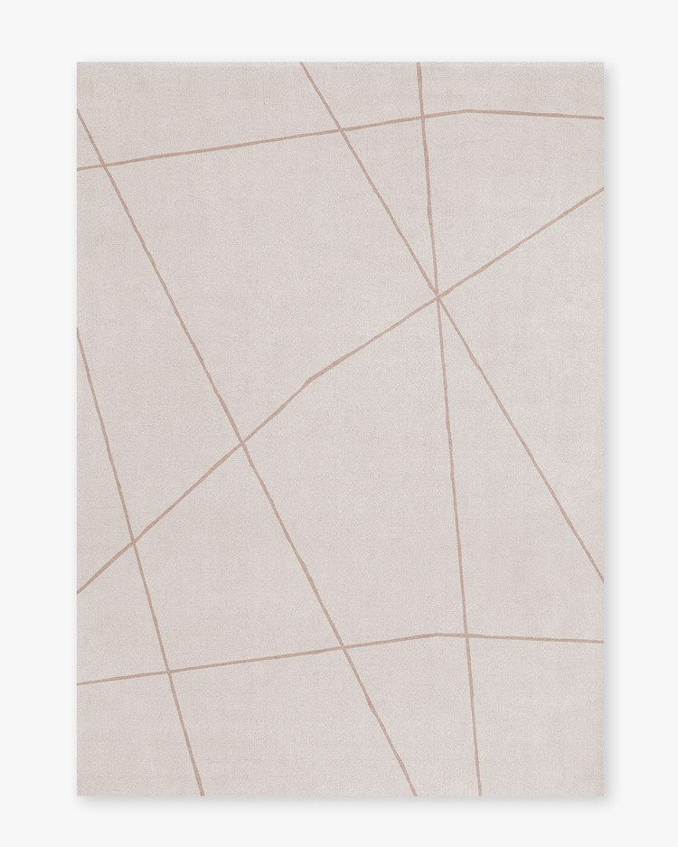 Layered Scandi Collection Rug Frost