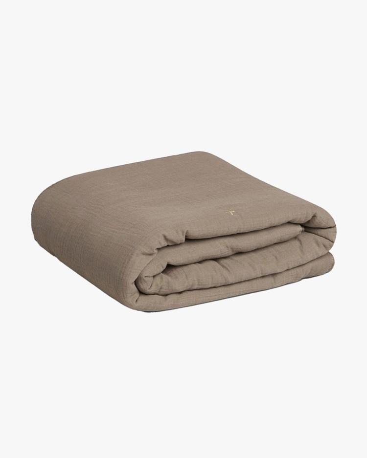 Garbo & Friends Muslin Filled Blanket Geranium