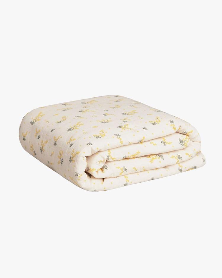 Garbo & Friends Muslin Filled Blanket Mimosa