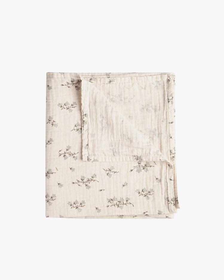 Garbo & Friends Muslin Swaddle Blanket Bluebell